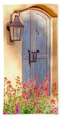 Doors Of Santa Fe Hand Towel by Roselynne Broussard