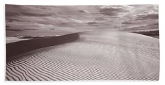 Dunes, White Sands, New Mexico, Usa Bath Towel