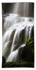 Bath Towel featuring the photograph Fairy Falls by Patricia Babbitt