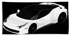 Ferrari Hand Towel by J Anthony