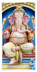 Colourful Ganesha Bath Towel