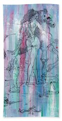 Love In The First Quarter Mile Hand Towel by Roberto Prusso