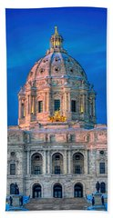 Minnesota State Capitol St Paul Bath Towel