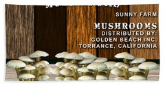 Mushroom Farm Hand Towel