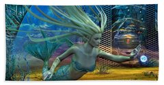 Bath Towel featuring the digital art Of Myths And Legends by Shadowlea Is