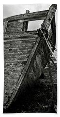 Old Abandoned Ship Bath Towel