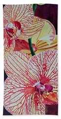 Orchids Bath Towel