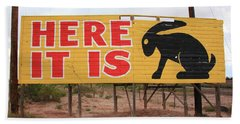 Route 66 - Jack Rabbit Trading Post Hand Towel