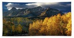 San Juan Mountains In Autumn, Colorado Bath Towel