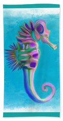 The Pretty Seahorse Hand Towel