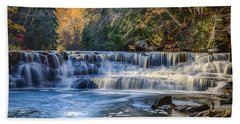 Squaw Rock - Chagrin River Falls Bath Towel
