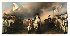 Surrender Of Lord Cornwallis Bath Towel