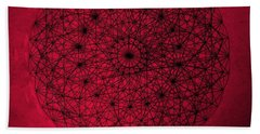 Wave Particle Duality Hand Towel