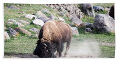 Yellowstone Bison Bath Towel