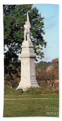 30u13 Hood Park Monument To Civil War Soldiers And Sailors Photo Hand Towel