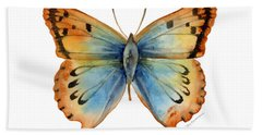 33 Opal Copper Butterfly Bath Towel