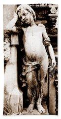 Pere-lachais Cemetery In Paris France Bath Towel by Richard Rosenshein