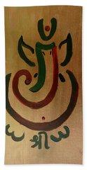 33 Rakta Ganesh Hand Towel