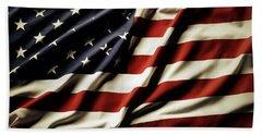 American Flag 61 Bath Towel