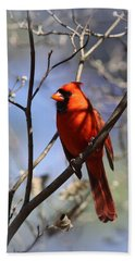 3477-006- Northern Cardinal Hand Towel