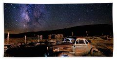 '37 Chevy And Milky Way Hand Towel