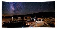 '37 Chevy And Milky Way Bath Towel