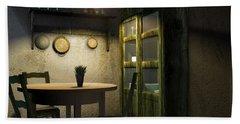 3d Dining Table Room Bath Towel