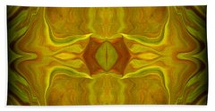 Abstract 45 Hand Towel