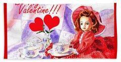 Be My Valentine Hand Towel