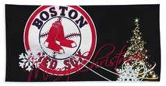Boston Red Sox Hand Towel