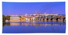 Charles Bridge, Prague, Czech Republic Bath Towel