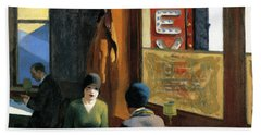 Chop Suey Hand Towel by Edward Hopper