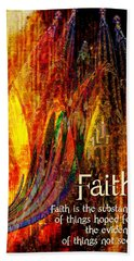 Faith Hand Towel