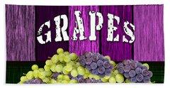 Grape Farm Hand Towel