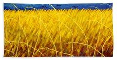 Homage To Van Gogh Hand Towel