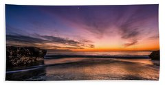 4 Mile Beach Sunset Bath Towel