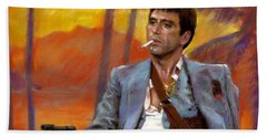 Scarface Bath Towel