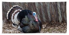Strutting Turkey Bath Towel