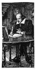 William Shakespeare (1564-1616) Bath Towel