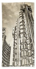 Willis Group And Lloyd's Of London Art Hand Towel
