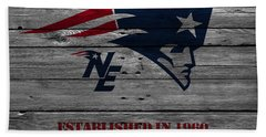New England Patriots Bath Towel