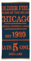 Chicago Bears Bath Towel