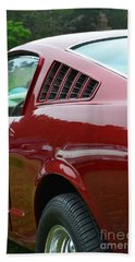 Classic Mustang Hand Towel by Dean Ferreira