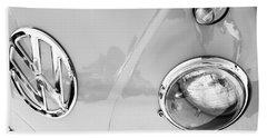 1959 Volkswagen Vw Panel Delivery Van Emblem Bath Towel
