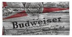 Budweiser Bath Towel
