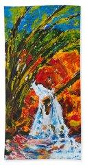 Burch Creek Waterfall Hand Towel