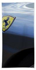 Ferrari Emblem Bath Towel