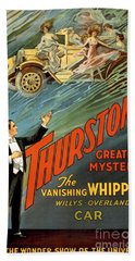 Howard Thurston American Magician Bath Towel