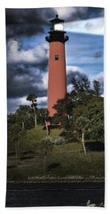 Jupiter Lighthouse Hand Towel