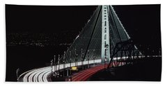 Oakland Bridge Bath Towel